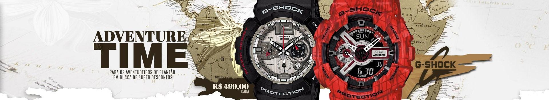 Promoção de G-Shock !!!