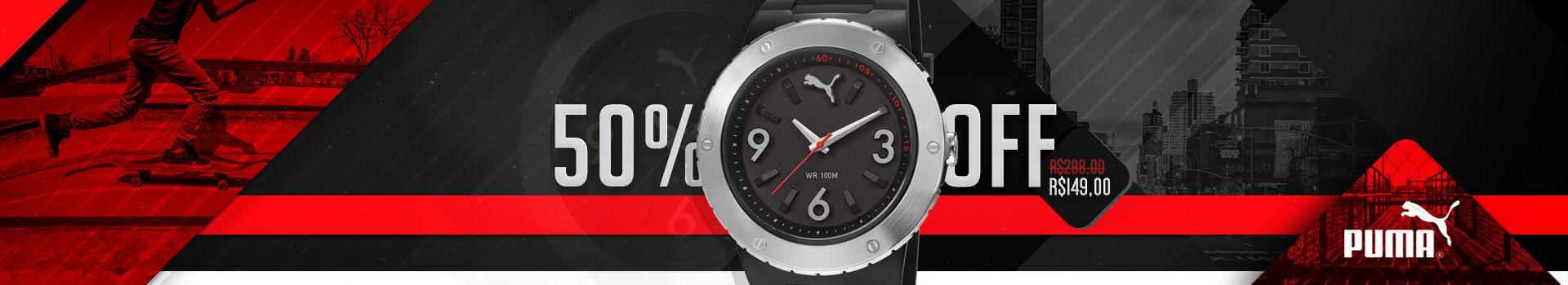 Relógio Puma por apenas R$149 !