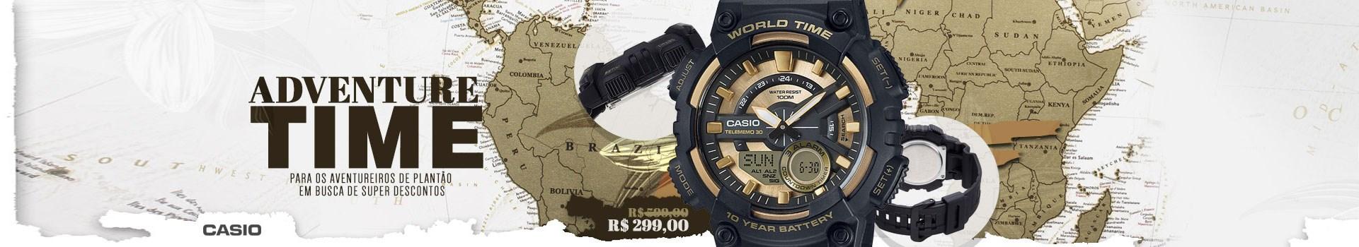 Casio World Time por R$299 !!!