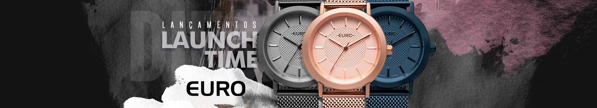 Lançamentos Relógios Euro