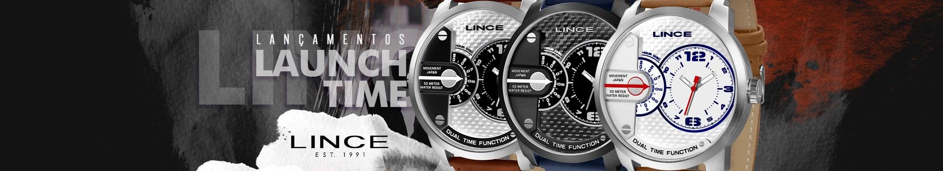 Lançamento Relógio Lince Masculino