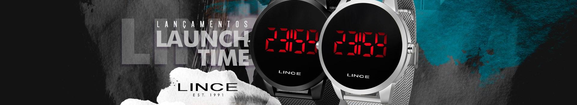 Lançamentos - Relógio Lince LED