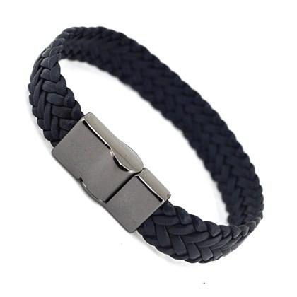 Bracelete Couro Masculino PL221