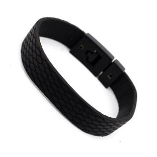Bracelete Couro Masculino PL232