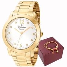 Kit Relógio Champion Elegance Feminino CN26788S