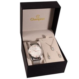 Kit Relógio Champion Feminino CN25716C