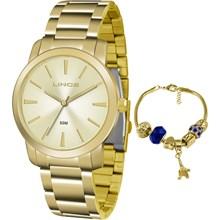 Kit Relógio Lince Feminino LRG4506LK C1KX