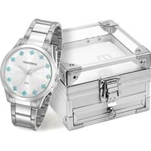 Kit Relógio Mondaine Feminino 53549L0MKNE1K2