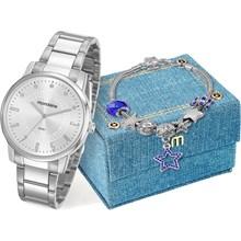 Kit Relógio Mondaine Feminino 53576L0MKNE3K1