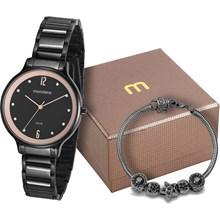 b975eba3572 Kit Relógio Mondaine Feminino 53626LPMVPE1K1 ...