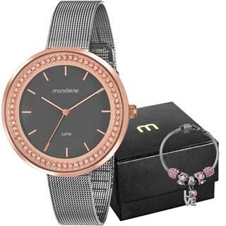 Kit Relógio Mondaine Feminino 53668LPMVGE1K2