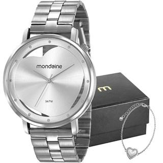Kit Relógio Mondaine Feminino 53748L0MKNE3K1