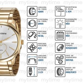 Kit Relógio Mondaine Feminino 53806LPMGDE2K1