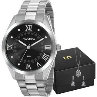 Kit Relógio Mondaine Feminino 53918L0MGNE5K1