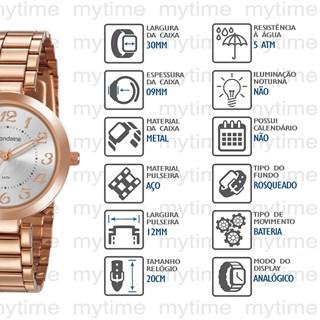 Kit Relógio Mondaine Feminino 53919LPMGRE4K1