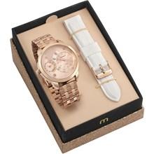 Kit Relógio Mondaine Feminino 76715LPMVRE2