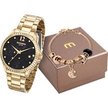 Kit Relógio Mondaine Feminino 99128LPMKDE6K2
