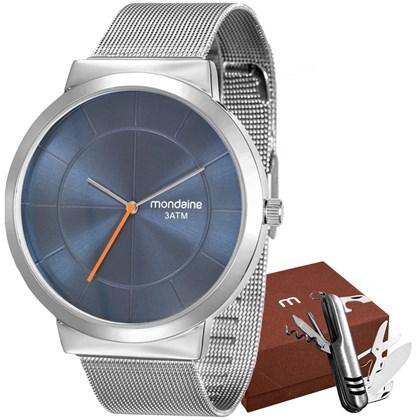 Kit Relógio Mondaine Masculino 53592G0MGNE3K