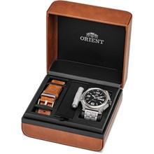 Kit Relógio Orient Masculino Automático Titânio 469TI004