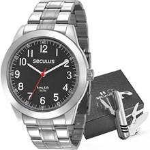 Kit Relógio Seculus Masculino 228937G0SVNA3KZ