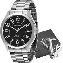 Kit Relógio Seculus Masculino 28866G0SVNA3KZ