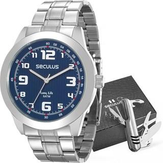 Kit Relógio Seculus Masculino 28887G0SVNA1KZ