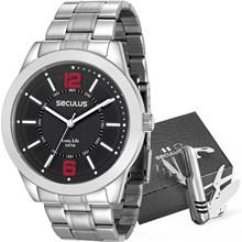 Kit Relógio Seculus Masculino 28922G0SVNA1KZ