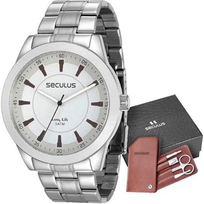 Kit Relógio Seculus Masculino 28924G0SVNA2K1