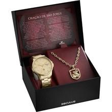 Kit Relógio Seculus Masculino 28933GPSKDA1K1