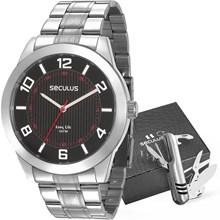 Kit Relógio Seculus Masculino 28983G0SVNA1KZ