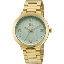 Relógio Allora Feminino Dourado Azul AL2035FGK/4Z