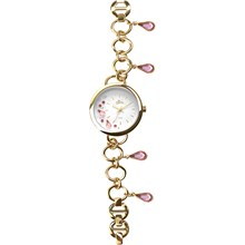 Relógio Allora Feminino Dourado Prata AL2036FGQ/4K