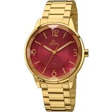 Relógio Allora Feminino Dourado Vermelho AL2035FAS/4R