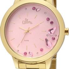 Relógio Allora Feminino Kit Pendeloques Dourado AL2036FGP/K4Q