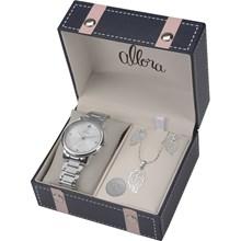 Relógio Allora Feminino Kit Segredos do Oriente AL2035FCL/K3K