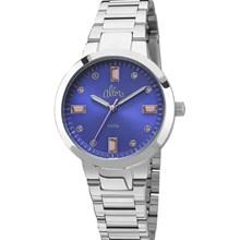Relógio Allora Feminino Prata Azul AL2035FAM/3A