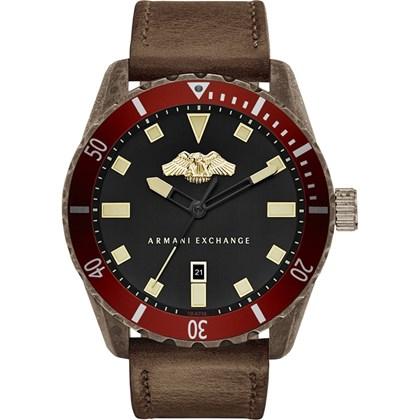 4e7d8a39c37 Relógio Armani Exchange Masculino Couro Marrom AX1712 - My Time