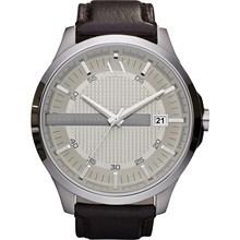 Relógio Armani Exchange Masculino Couro Marrom AX2100