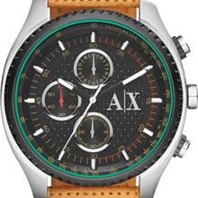 Relógio Armani Exchange Masculino Cronógrafo Couro Marrom AX1608