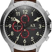 Relógio Armani Exchange Masculino Cronógrafo Couro Marrom AX1755