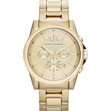 Relógio Armani Exchange Masculino Cronógrafo Dourado AX2099