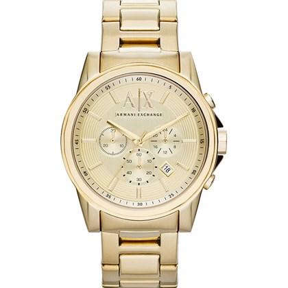 76dc1044717 Relógio Armani Exchange Masculino Cronógrafo Dourado AX2099 - My Time