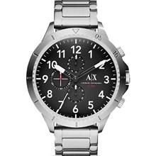 Relógio Armani Exchange Masculino Cronógrafo Prata Preto AX1750