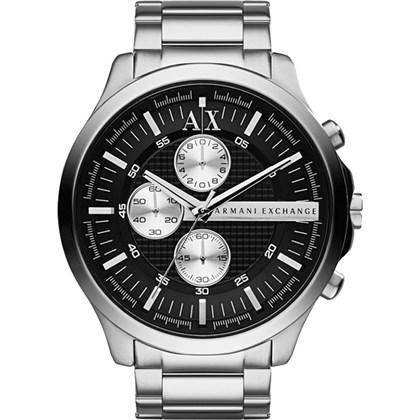 713bf324fcd Relógio Armani Exchange Masculino Cronógrafo Prata Preto AX2152 - My ...