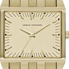 Relógio Armani Exchange Masculino Dourado Quadrado AX2219
