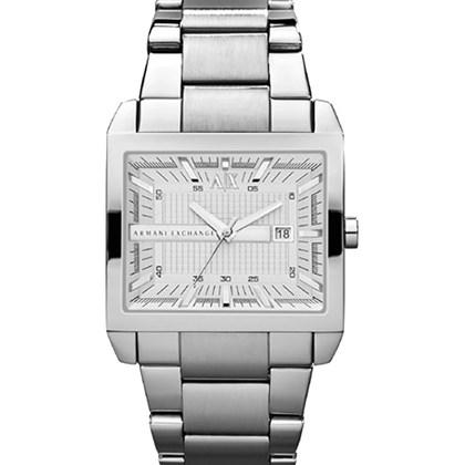 01e73e6f80f Relógio Armani Exchange Masculino Prata Quadrado AX2201 - My Time