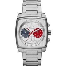 Relógio Armani Exchange Masculino Prata Quadrado AX2254