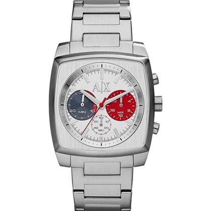 c12e7196215 Relógio Armani Exchange Masculino Prata Quadrado AX2254 - My Time