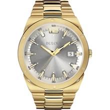 Relógio Bulova Classic Masculino Dourado Cinza WB22284H