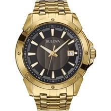 Relógio Bulova Classic Masculino Dourado Preto WB22337U